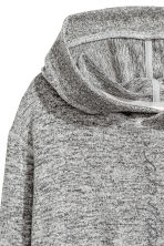 Hooded top with a print motif - Grey marl - Kids | H&M CN 3