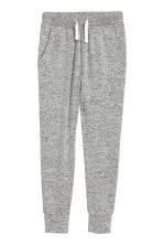 Fine-knit joggers - Grey marl - Kids | H&M 2