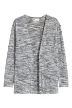 Fine-knit cardigan - Grey marl - Kids | H&M 2