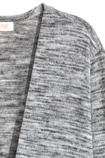Fine-knit cardigan - Grey marl - Kids | H&M 3
