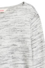 Fine-knit jumper - Light grey marl - Kids | H&M CN 3