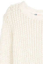 Knitted jumper - Natural white -  | H&M CN 3
