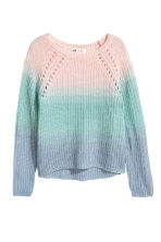 Knitted jumper - Pink/Turquoise - Kids | H&M 2