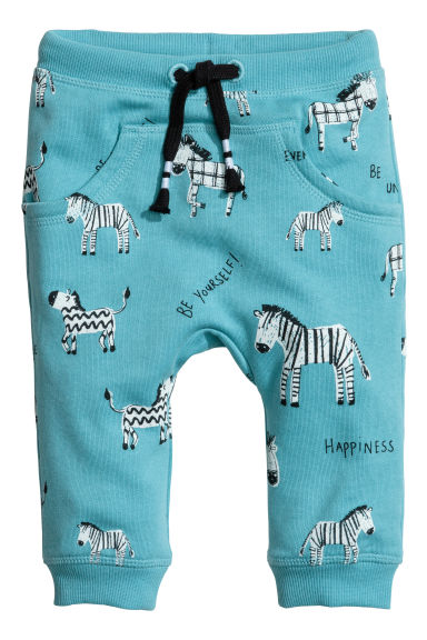 Joggers - Turquoise - Kids | H&M 1