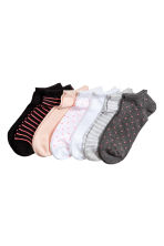 7-pack trainer socks - Powder pink -  | H&M 1