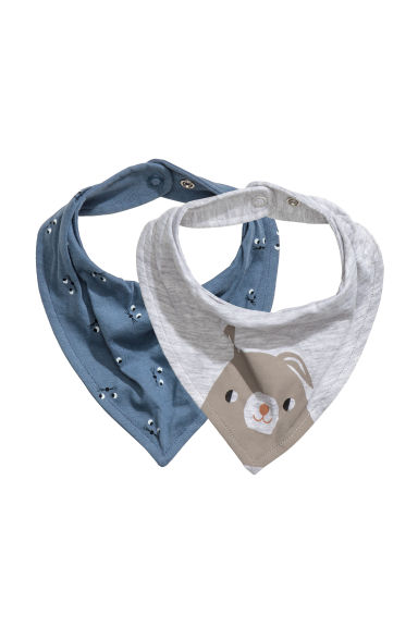 Lot de 2 foulards - Bleu - ENFANT | H&M FR 1