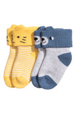 2-pack terry socks - Yellow - Kids | H&M 1