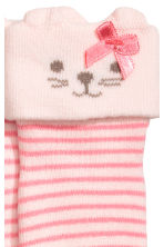 2-pack terry socks - White/Spotted -  | H&M 3