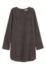 Crêpe dress - Dark grey/Spotted - Ladies | H&M 2