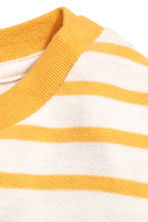 Cotton top - Yellow/Striped -  | H&M CN 2