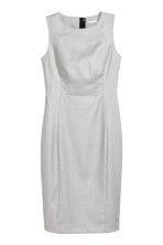Sleeveless dress - Grey/Patterned - Ladies | H&M CN 2