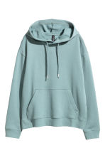Hooded top - Dark turquoise - Ladies | H&M 2