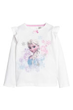 Jersey pyjamas - White/Frozen - Kids | H&M 2