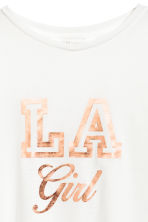 Printed T-shirt - White - Kids | H&M 3