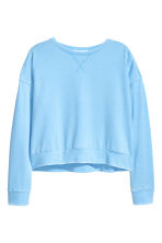 Sweatshirt - Blue -  | H&M 2