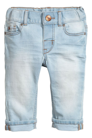 Slim fit Jeans - Light denim blue -  | H&M