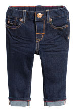 Jeans Slim fit  - Dark denim blue - Kids | H&M 1
