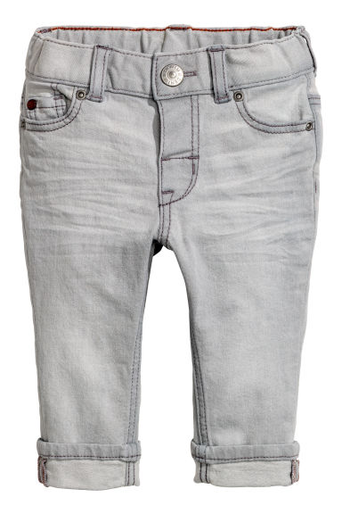 Jeans Slim fit - Gris - ENFANT | H&M FR 1