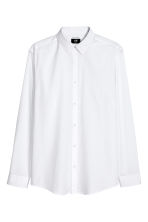 Easy-iron shirt Slim fit - White -  | H&M CN 2
