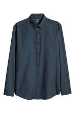 Camicia easy-iron Slim fit - Blu scuro - UOMO | H&M IT 2