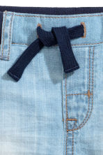 Pull-on jeans - Light denim blue -  | H&M 4