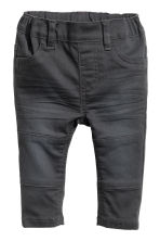 Twill trousers - Dark grey - Kids | H&M 1