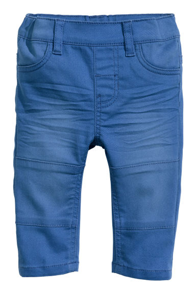 Twill trousers - Blue - Kids | H&M CN 1