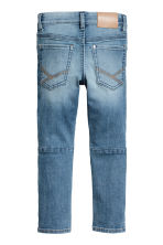 Skinny Fit Biker Jeans - Denim blue -  | H&M CN 3