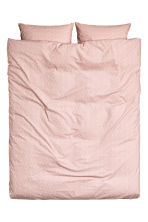 Patterned duvet cover set - Dusky pink - Home All | H&M CN 2