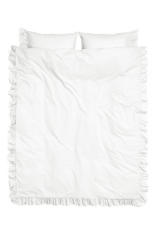 Cotton poplin duvet cover set