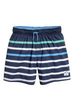 Swim shorts - Dark blue/Blue - Kids | H&M 1