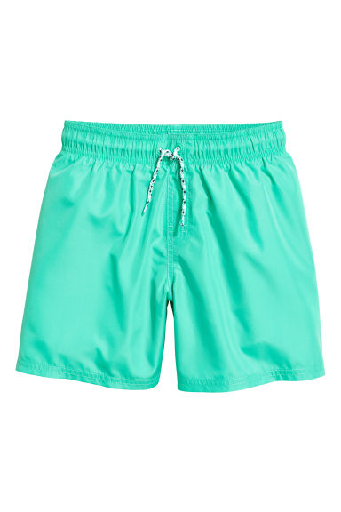 Swim shorts - Mint green -  | H&M CN 1