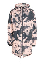 Outdoor parka - Dark grey/Floral - Ladies | H&M 2