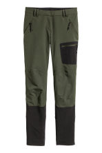 Outdoor trousers - Dark Khaki - Ladies | H&M 2