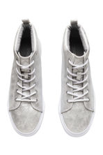 Sneakers con plateau - Argentato - DONNA | H&M IT 3