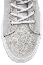 Sneakers con plateau - Argentato - DONNA | H&M IT 4