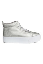 Sneakers con plateau - Argentato - DONNA | H&M IT 2