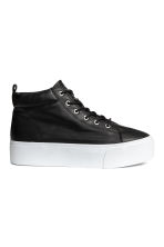 Sneakers con plateau - Nero - DONNA | H&M IT 2