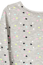 Jersey dress - Grey heart - Kids | H&M 3