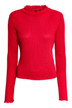 Rib-knit jumper - Red - Ladies | H&M GB 2