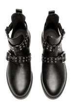 Cut-out ankle boots - Black - Ladies | H&M CA 3