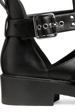 Cut-out ankle boots - Black - Ladies | H&M CA 5