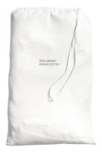 Washed cotton duvet cover set - White - Home All | H&M CN 3