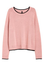 Knitted jumper - Pink - Ladies | H&M CN 2