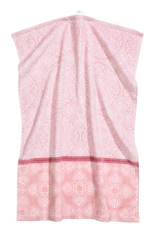 Patterned hand towel