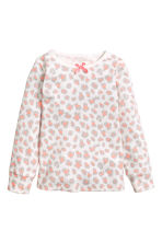 2-pack jersey pyjamas - Powder pink/Hearts -  | H&M 2