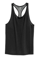 Sports vest top - Black - Ladies | H&M 2