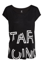 Sports top - Black - Ladies | H&M CN 2