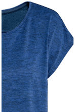 Sports top - Dark blue marl - Ladies | H&M CN 4