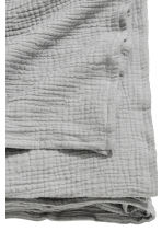 Crinkled cotton bedspread - Grey - Home All | H&M CN 3